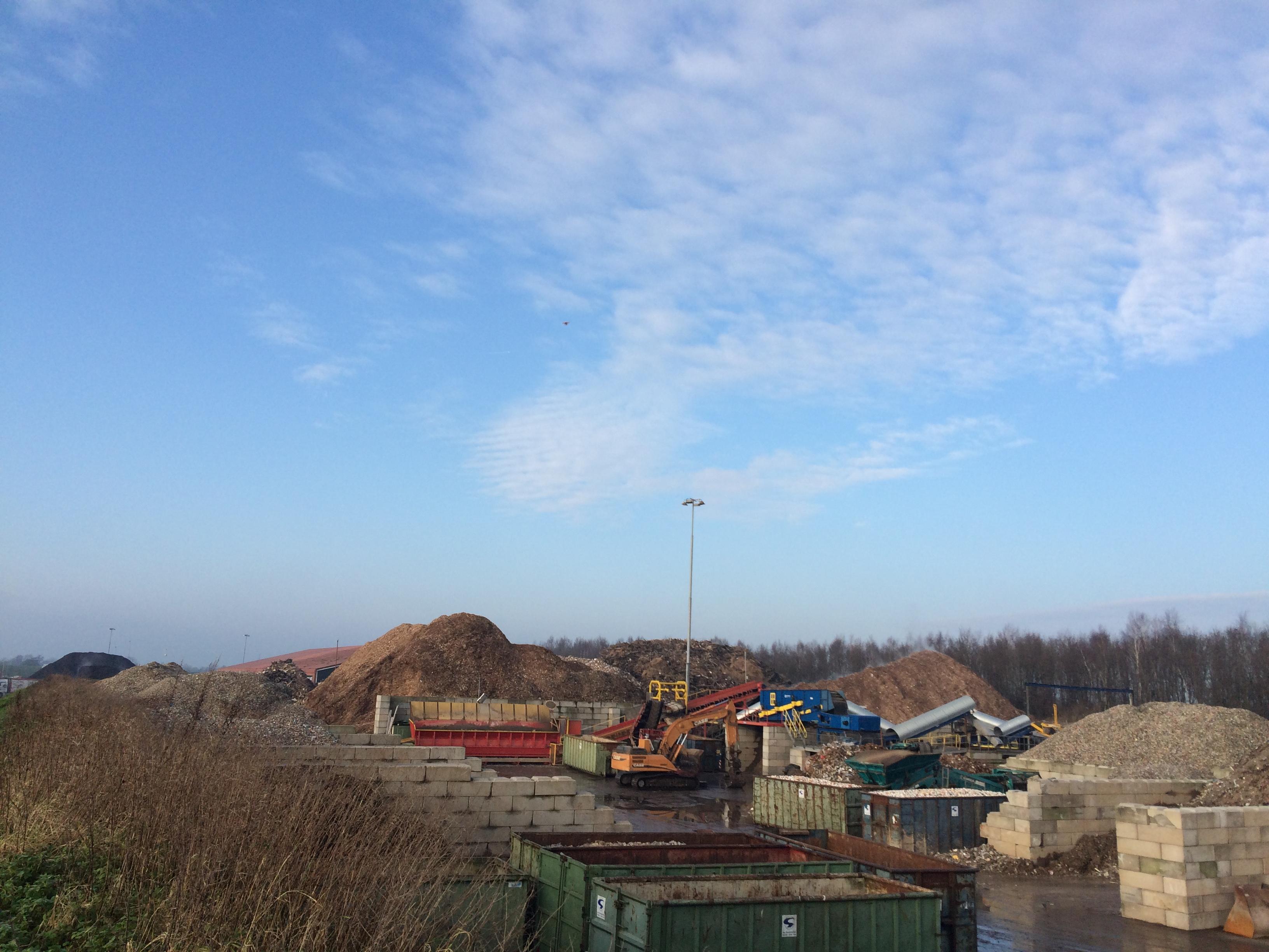 Circulair Economy plant Van Gansewinkel at Drachten