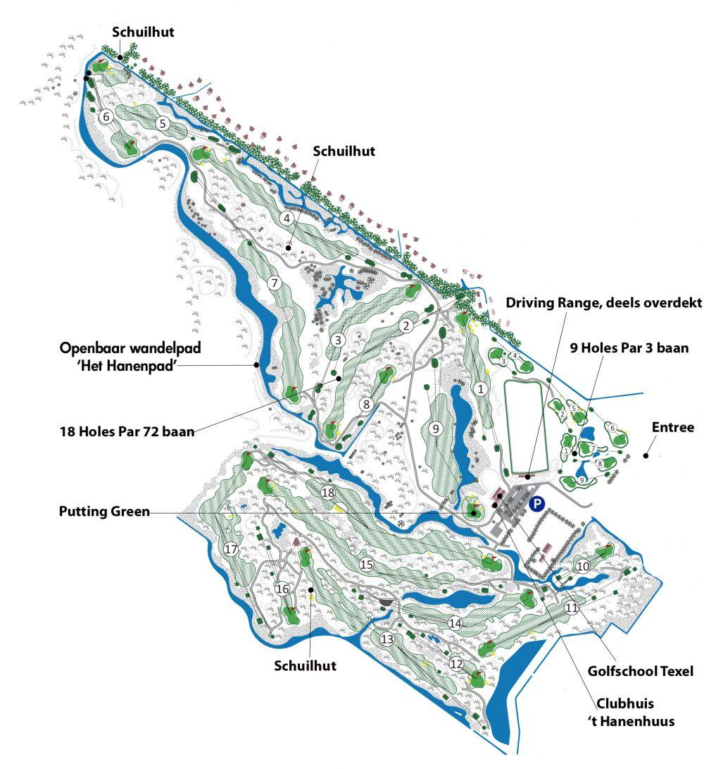 Golfcourse Texelse golfclub